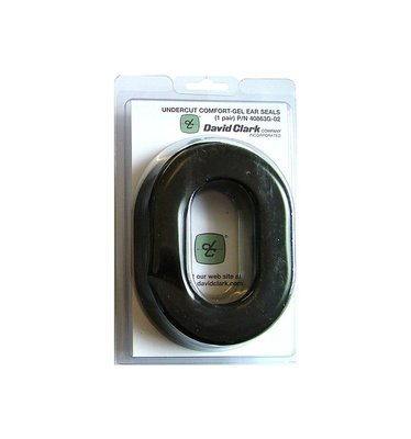 Undercut comfort gel ear seals David Clark