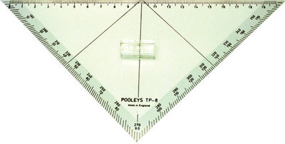 PP-8 Protractor Traingular NPP080