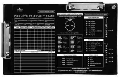 FB-3 Flight Board Pooleys