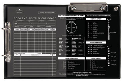 FB-7 Right Handed Version Flight Board Pooleys