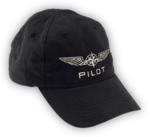 Cap Pilot Black