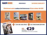 RateOne Magazine per post - dans votre boîte aux lettres_