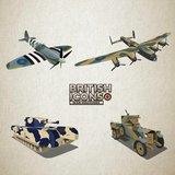 British war icons to wear