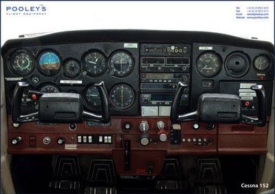 Cockpit Poster Cessna 152