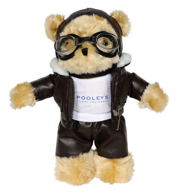 "Pilot Bear with logo T-Shirt large 10"" / 25 cm"