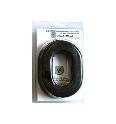 Undercut comfort gel ear seals David Clark