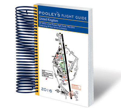 UK Flight Guide 2016 - Spiral Bound
