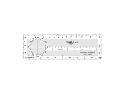 RNP-1 Radio Plotter 199mm x 62mm 1:500.000