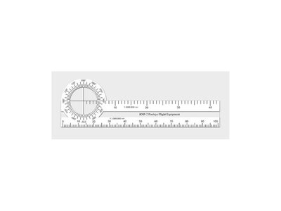 RNP-2 Radio Nav Shaped Plotter