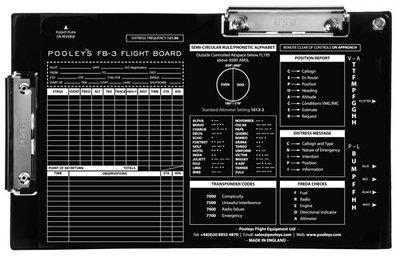 FB-3 Flight Board Pooleys