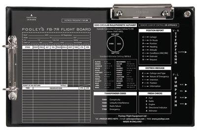 FB-7 Right Handed Version Flight Board Pooleys