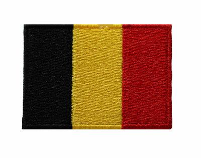 Badge vlag België