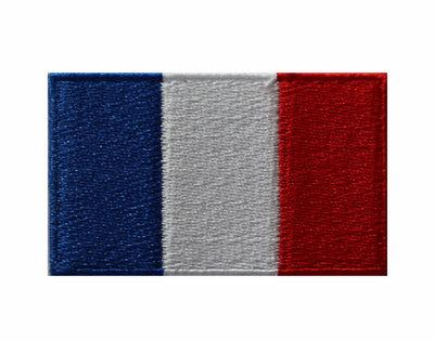 Badge vlag Frankrijk