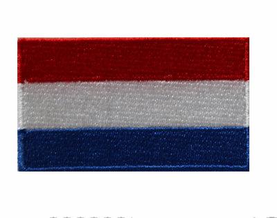 Badge vlag Nederland
