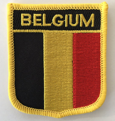 Badge Belgium Large