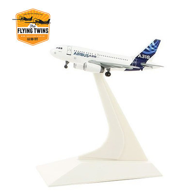 A318 1:400 scale model