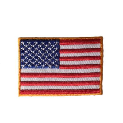 Badge vlag Amerika