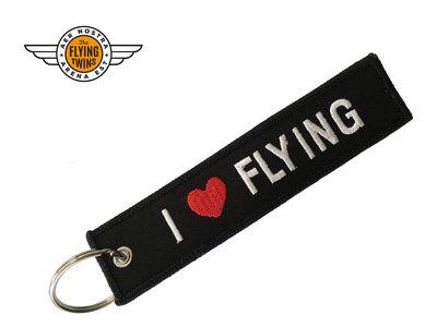 """Sleutelhanger """"I love flying"""""""