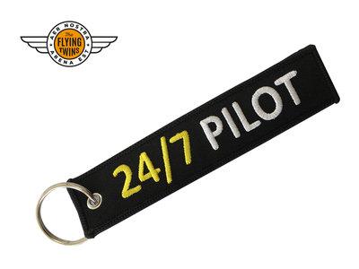 """Sleutelhanger """"24/7 Pilot"""""""