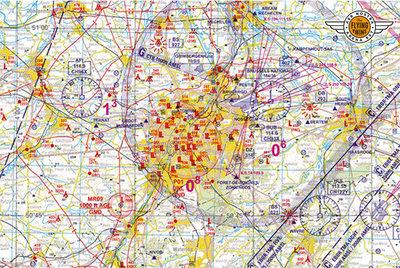 Low VFR Chart Belgium 2020