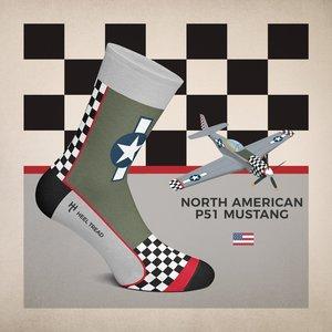 Socks Mustang P-51