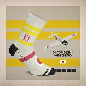 Sokken Mitsubishi A6M ZERO
