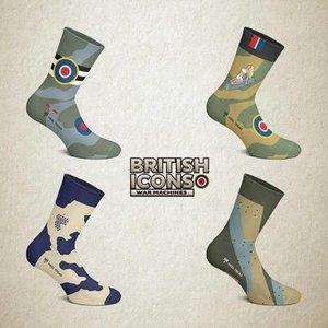 Pack socks British War Icons