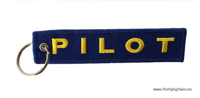Keychain PILOT blauw / geel
