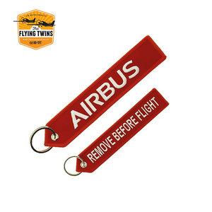 Airbus Keychain Rood