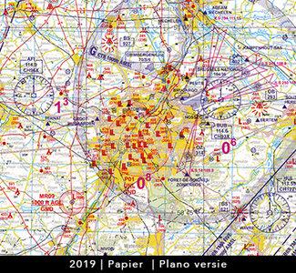 Low VFR Chart Belgium 2019