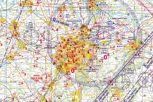 Chart VFR Belgium