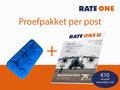 Proefpakket RateOne 11 met ijsblokvorm