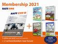 Membership 2021 inclusief 2 cartoons naar keuze