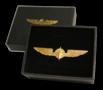 Pilot Wings gold 3,5 cm pin